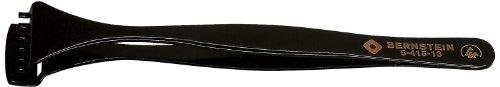 Preisvergleich Produktbild Bernstein Werkzeug Wafer-Pinzette mit abgestufter unterer Schaufel und 6 Zähnen, ESD-Beschichtung, 130 mm, 5-415-13