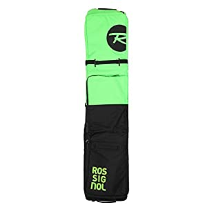 Rossignol Snow Split Roller Board und Gear Reisetasche, schwarz/grün