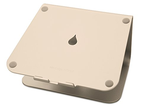 Rain Design mStand Laptop Stand, Gold (Patented)|Standard|0|0|0|Disc|Disc Gold Stand
