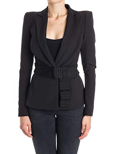 Liu Jo Luxury Fashion Damen I67048T17202222 Schwarz Blazer | Jahreszeit Outlet
