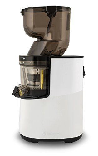 Zestpresso ZP-500 Whole Slow Juicer   Extractor de Zumos   Licuadora en Frío   20 Años de Garantía (Blanco y Almendra)