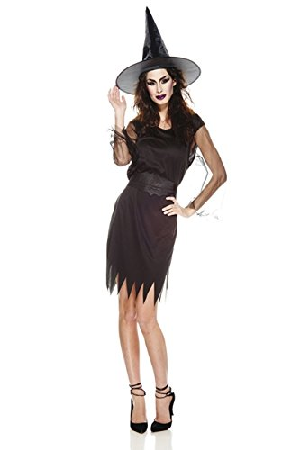 AEC–aq00537/M–Costume–Strega Sexy Adulto, taglia M