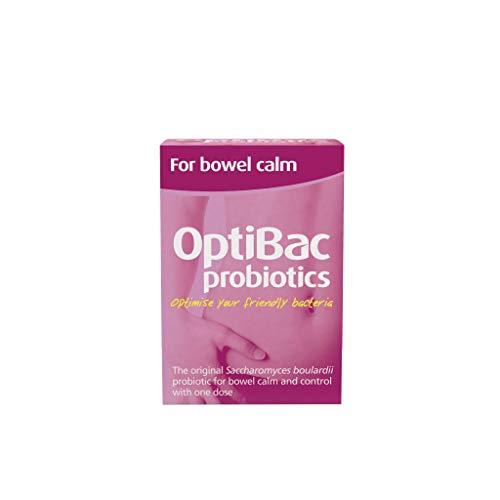 OPTIBAC Saccharomyces boulardii, Packung mit 16 Kapseln