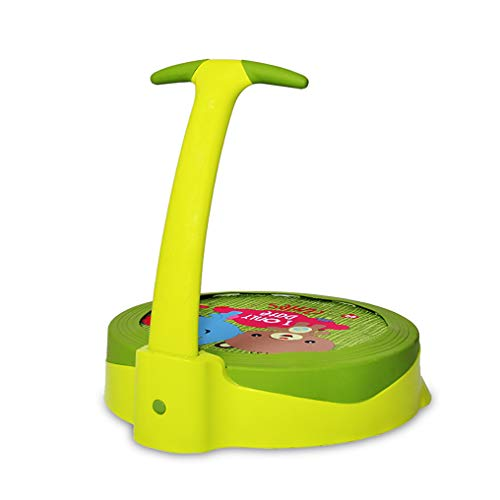 Faltbares Trampolin, Fitness-Trampolin für Heimkinder 1~3 Jahre altes Baby-Sprungbett, leicht mit rutschfestem Griff zu tragen Rebounder-Trampolin, (L × B × H) 21,3 × 19,7 × 19,7 Zoll