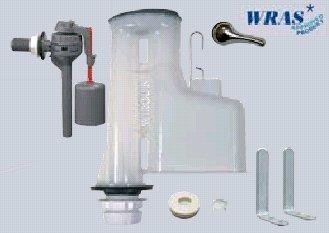 Wirquin Doc M faible niveau 8/2 Siphon Plus Topy Kit robinet flotteur arrivée latérale