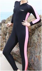 Lady s Multifunktions voller Länge schwimmen tauchen Surfen einteiliger...