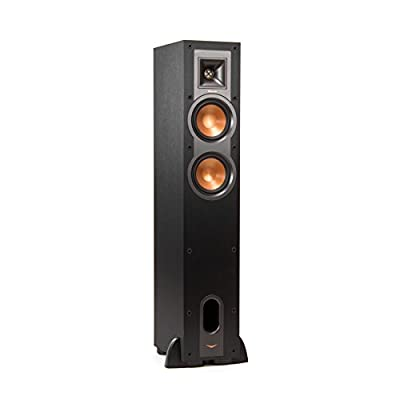 "Klipsch R-24F 75W Black loudspeaker - loudspeakers (Speaker set unit, Floor, 11.4 cm (4.5""), 2.54 cm, 75 W, 300 W) ai migliori prezzi su Polaris Audio Hi Fi"