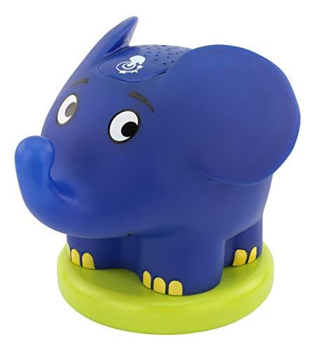 ANSMANN Sternenlicht Projektor Elefant - Die Sendung mit der Maus - LED Nachtlicht mit Musik & Sternenhimmel Projektor ideal als Einschlafhilfe für Baby & Kinder - Schlummerlicht als Babyzimmer Deko (Von Männer Mäusen)