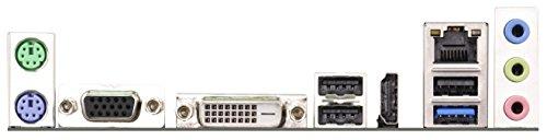 ASRock Q1900M J1900 Mainboard Sockel (micro-ATX, 2x DDR3 Speicher, SATA III, 3x USB 2.0)