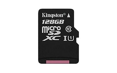 Kingston 128go - Kingston - SDC10G2/128GBSP - Carte MicroSD -