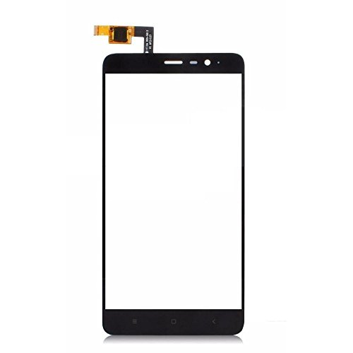 Touch Screen Digitizer Glass Lens for Xiaomi Redmi Note 3 Black