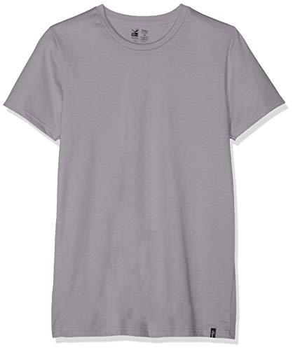 Trigema Herren 637201 T-Shirt Grau (Cool-Grey 012), Herstellergröße: XX-Large -