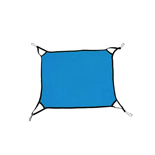 Sungpunet Pet Hammock Reversible 2 Seiten Cat Hängematten-Bett Verwendung mit Cage oder Stuhl bequemen Haustier-hängenden Bett Schlafen und Ruhe Hängematten für ()