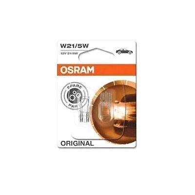 OSRAM 7515-02B W21/5W 21W W3x16q Lampen Doppelblister Nebel Rückfahr Bremslicht