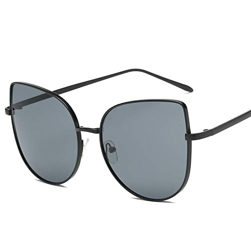 GY-HHHH Klassisches Retro-Outdoor-EssentialCat Eye Sonnenbrille Metall Cat Eye Sonnenbrille-Blau 1