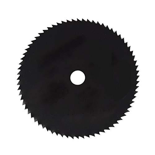BingWS TCT Hoja 1pcs 85mm Recubrimiento de nitruro Hoja de Sierra Circular Madera/Metal Cortador Disco de Corte de Madera Hoja de Sierra Hoja de Sierra Circular (Color : 1pc 85x0.8x15mm 72T)