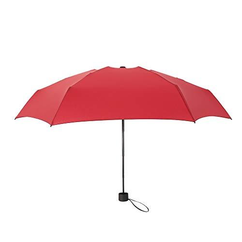 Tensay Mini Pocket Compact Regenschirm Sun Anti UV 13 Folding Rain Windproof für Reisen im Freien