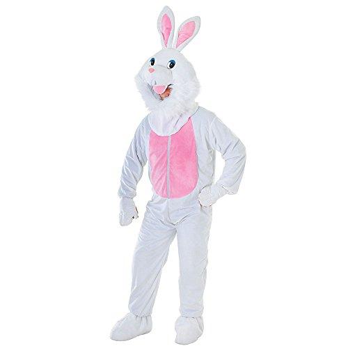 Bristol Novelty AC464 Kaninchen Kostüm mit großem Kopf, Medium Unisex- Erwachsene mehrfarbig