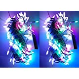 Pick Indiana Outdoor LED Fairy String Lights WithMulti Mode Remote For Diwali, Christmas, Party,Decoration - Multicolor (40 Ft.- Pack Of 2)