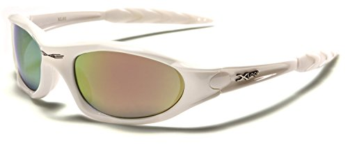 X-Loop ® 'Extreme' Ski & Sporting Sunglasses for Adults - Unique Size - UV400 Protection - Running / Skiing / Snowboarding / Fishing / Cycling - (With Vault Case)