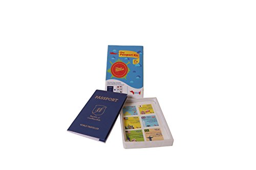 Traveller Kids - Play Passport Kit - Multi Colour