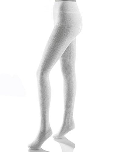 ALMBOCK Trachtenstrumpfhose in weiß | Trachtenstrumpfhosen für Damen | Trachten Strumpfhose zum Dirndl