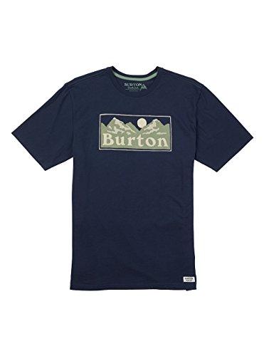 Burton Herren Ralleye Shortsleeve T-Shirt, Mood Indigo, S (Burton Shirt Blau)