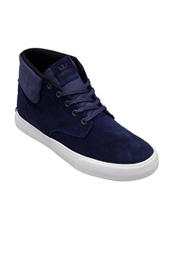 Supra - Passion, Sneaker alte Unisex - Adulto Navy - off white