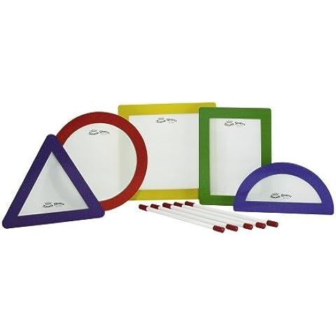REMO 834080 Sound Shape - Forma suono percussioni, rettangolo, colori assortiti