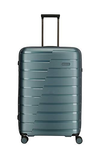 Travelite Hartschalen-Koffer-Serie 'AIR BASE' von travelite in 2 Farben: unverwüstlich, funktional, cool Koffer, 77 cm, 105 L, Eisblau