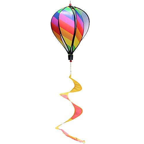 osfanersty Heißluftballon Spielzeug Windmühle Spinner Garten Rasen Hof Ornament Outdoor Party Favor Supplies