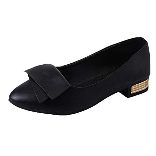 Femmes Bureau D'été Chaussures Pompes De Mariage De Bureau Lady Dress Chaussures Pointu Slip - Chaussures Décontractées Plates BaZhaHei