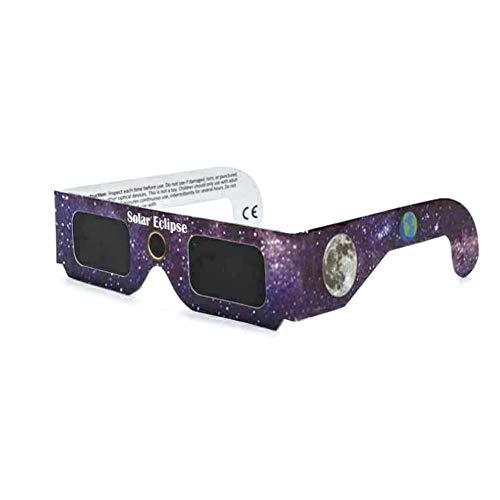 CloudWhisper Sonnenbrille, solarbetrieben, Zertifiziert, sicherer Sonnenschutz, 10 Stück