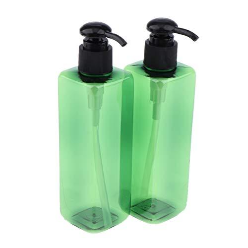 Homyl 2 Stück Leer Gel-Spender mit Pumper Pumpflasche, Gel, Lotion-Spender Kosmetik Sprühflasche,...