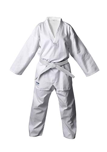DEPICE Taekwondo Anzug Kibon Weiß, 160 cm -