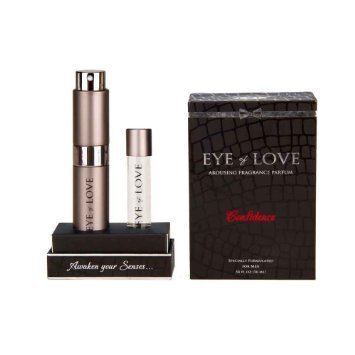 Cologne Spray Refill (Confidence By Eye of Love Pheromone Highest Concentration Cologne Parfum Spray to Attract Women, 1 bottle w/refill, .53 Fl Oz (16 Ml) by Eye of Love)