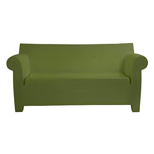 Kartell Bubble Club Sofa/Zweisitzer, grün matt LxBxH 189x75x76cm Neue Farbe! (Club Bubble Sofa)