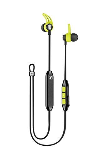 Sennheiser CX Sport Bluetooth In-Ear Wireless Sports Headphon, black/yellow - 3