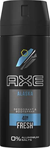 Axe Deospray Alaska ohne Aluminiumsalze, 150 ml, 3er Pack (3 x 150 ml)
