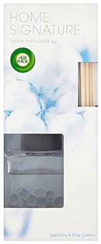 Air Wick Home Signature Premium Reed Diffuser - Sapphire and