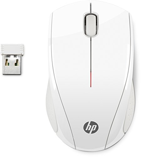 HP N4G64AA#ABB - Ratón inalámbrico, USB, color blanco