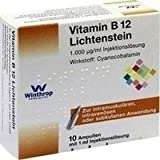 Vitamin B12 1000 [my]g Lichtenstein Ampullen 10X1 ml