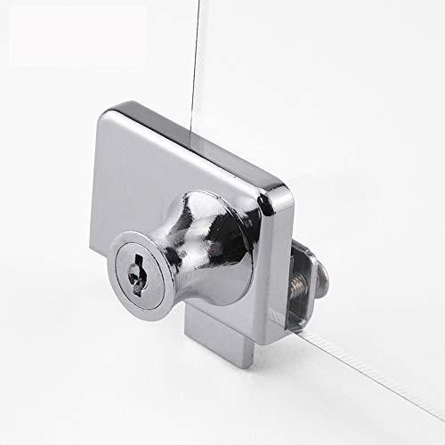 Cerradura de seguridad para puerta de cristal de doble apertura para g