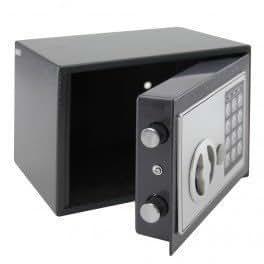 coffre fort acier fermeture a combinaison 23 x 17 x 17 5 cm fournitures de bureau. Black Bedroom Furniture Sets. Home Design Ideas