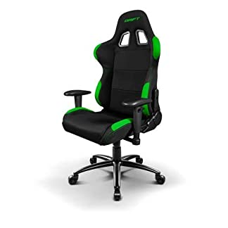 Drift DR100 – DR100BG – Silla Gaming, Color Negro/Verde