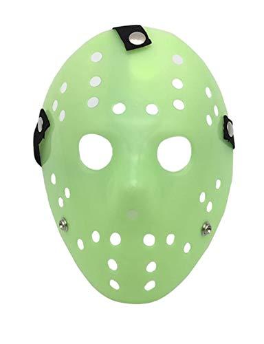 Mann Kostüm Jugend Green - TUTOU Horror Halloween, Cosplay Kostüm für Erwachsene Party Scary Scary Devil Devil Zombie Funny Mask,Grün