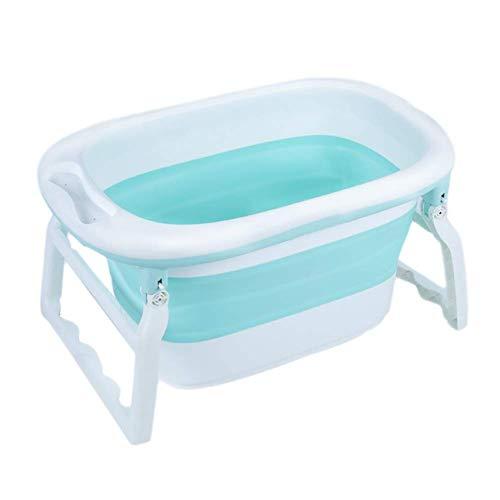 MY1MEY Bañera Plegable portátil, Plato de Ducha Plegable para niños, Bañera para bebés de 0 a 6...