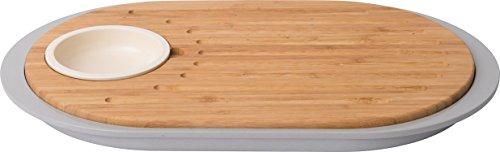 Berghoff 3950060 Set Tapas Bambou, Marron, 39 x 23 x 2,5 cm