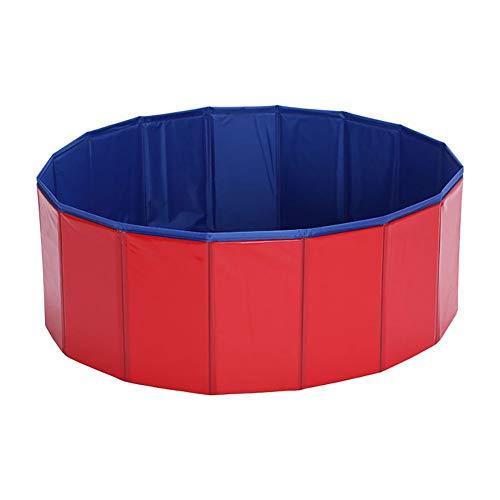 1 STÜCK PVC Klapp Haustier Pool mit Ablaufloch Haustier Waschen Werkzeug Dusche Pool Bett - Pvc-dusche-bett