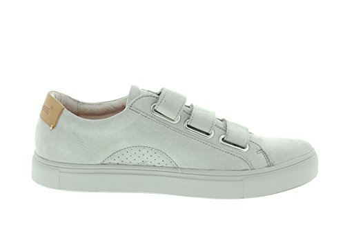 BLACKSTONE - Sneaker NM07 - limestone velcro Limestone